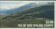 NZ Booklet SGSB41 $3 Kakapo Booklet containing SG1288
